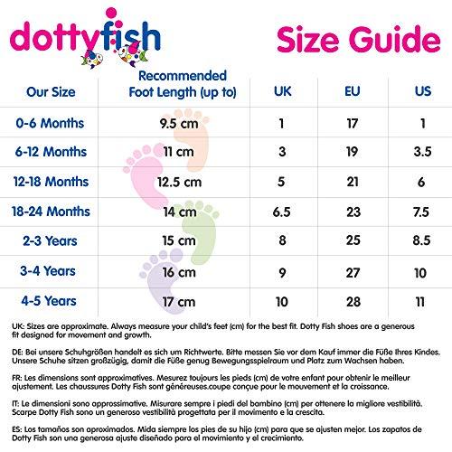 Dotty Fish Weiche Baby Lederschuhe, 2-3 Jahre - 6