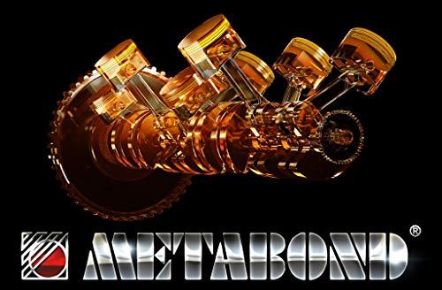 Eco Metabond aditivo para Aceite Motor antifricción antidesgaste para Motores de Gasolina diésel y GLP - Ceramic