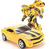 Ceomate Transformers Bumblebee Action Figure-Transformers Bumblebee Toys Collectible Deformation Car Toys for Boys