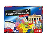 Noris 606071907 – Deutschlandreise für Kinder – Das spannende Wettrennen durch die 16 Bundesländer, für Kinder ab 6 Jahren