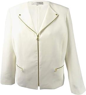 bf94bbc18e29d Amazon.com  18 - Blazers   Jackets   Plus-Size  Clothing