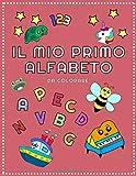 Il mio primo alfabeto da colorare: per bambini. Colora le immagini e impara a scrivere le ...