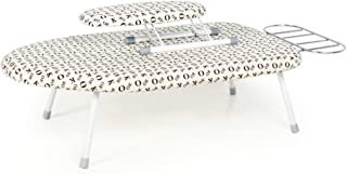 YJTGZ Ironing Board, Small Iron Worktop Table Shelves Compact Desktop Ironing Board Ironing Smooth Good Breathability Does Not Fade Stable Foldable Easy to Store Not Taking Up Space Multifunction(E)