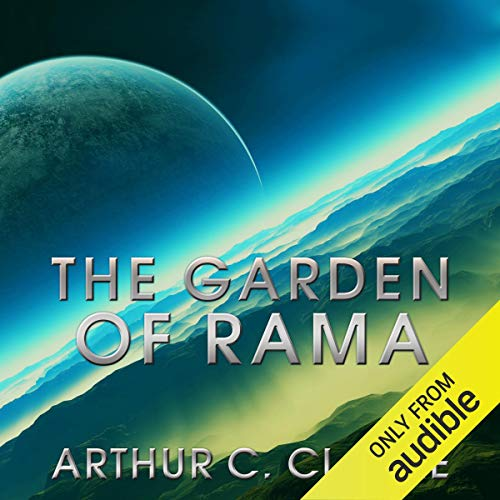 The Garden of Rama     Rama Series, Book 3              Written by:                                                                                                                                 Arthur C Clarke,                                                                                        Gentry Lee                               Narrated by:                                                                                                                                 Toby Longworth,                                                                                        Louise Jameson                      Length: 17 hrs and 10 mins     10 ratings     Overall 4.3