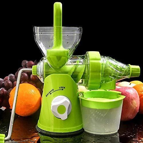 Mini Presse Juicer Handgefertigte Früchte Gemüse Orange Wassermelone Karottensaft Hand Kurbel Reamer Home Verwenden Grün