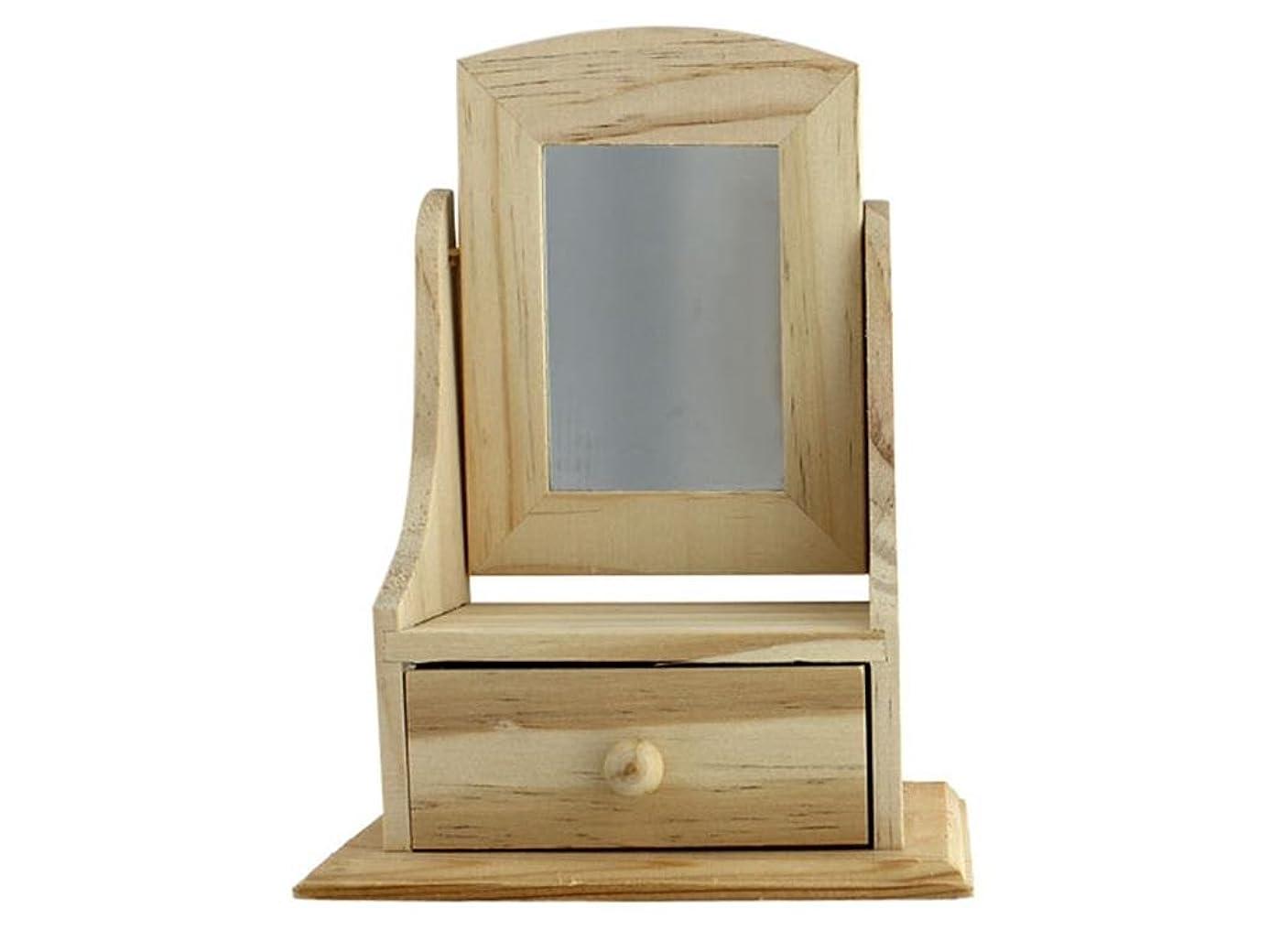 Darice Wood Drawer 5.2x7.25x 3.15 Wd Box W/1 Drawr5.2x3.15x7.25