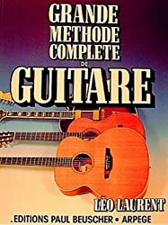 Partition : Grande methode complete de guitare