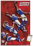 Trends International Poster Mount NFL New York Giants - Odell Beckham Jr, 22.375' x 34', Premium Poster & Mount Bundle