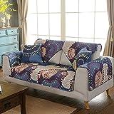 Funda para sofá de algodón acolchado para exteriores, gruesa, resistente, funda de cojín de protección de muebles, 110 x 180 cm