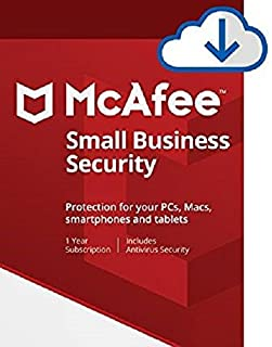 McAfee Small Business Security 5 Device [PC/Mac Download]