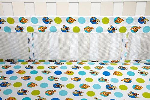 Disney Nemo Secure-Me Crib Liner