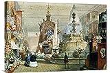 La gran exposición celebrada en el Palacio de Cristal, Londres Canvas Art 30'x21'