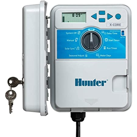 Hunter Sprinkler XC800 X-Core 8-Station Outdoor Controller Timer XC-800 8 Zone