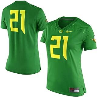 NCAA Oregon Ducks Women's Size Large #21 Jersey Shirt