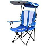 SwimWays Kelsyus Original Canopy Chair - Foldable Chair for Camping, Tailgates, and Outdoor Events - Royal Blue