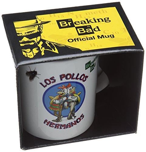 Breaking Bad MG22468 (Los Pollos Hermanos Mug, Multicolore, 11oz/315ml