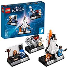 Features 3 LEGO builds illustrating the areas of expertise of the 4 featured women of NASA Includes 4 minifigures: Nancy Grace Roman, Margaret Hamilton, Sally Ride and Mae Jemison Nancy Grace Roman's build features a posable Hubble Space Telescope wi...