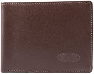 Big Skinny Men's Super Skinny Leather Bi-Fold Slim Wallet, Holds Up to 30 Cards