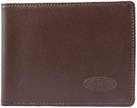 Big Skinny Men's Super Skinny Leather Bi-Fold Slim Wallet, Holds Up to 30 Cards