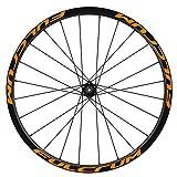 Pegatinas Llantas Bicicleta 29' WH43 Fulcrum VINILOS Ruedas Naranja