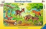 Ravensburger Rahmenpuzzle - Tierkinder des Waldes