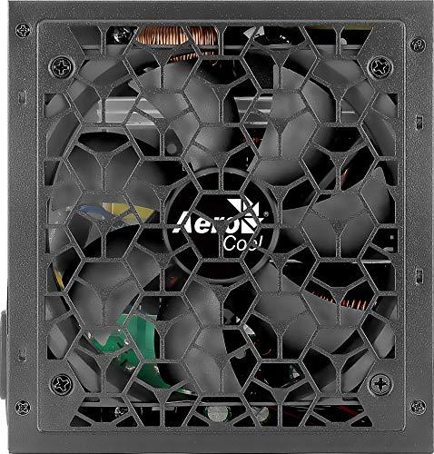 AeroCool Aero W AEROW650 Strömförsörjning, Svart 650 W