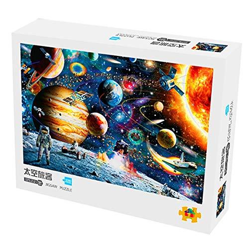 Toy Castle Space Traveler Adult Puzzle 1000 Piezas Descompresión Inteligencia Juguete para Niños Educación Temprana