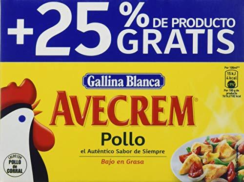 Gallina Blanca Avecrem Caldo de Pollo, 12 Pastillas