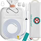 Enema Bag Kit [17pc] for Home Use - 100% Transparent, Non-Toxic Enema Kit for Coffee and Water Colon Cleansing...