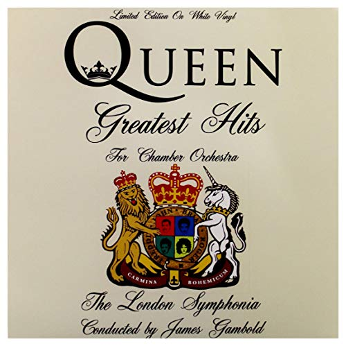 QUEEN GREATEST HITS FOR CHAMBER ORCHESTRA: LIMITED EDITION ON WHITE VINYL