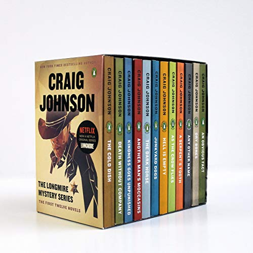 The Longmire Mystery Series Boxed Set Volumes 1-12: The First Twelve Novels (A Longmire Mystery)