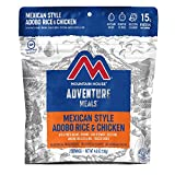 Mountain House Mexican Style Adobo Rice & Chicken | Freeze Dried Backpacking & Camping Food |...