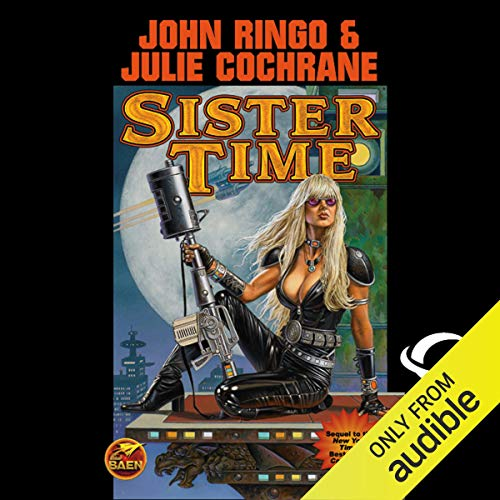 Sister Time audiobook cover art