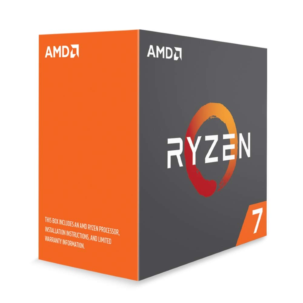 Amazon Com Amd Yd180xbcaewof Ryzen 7 1800x Processor Computers Accessories