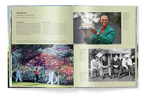 Golf - Das ultimative Buch, Golf-Legenden und Lifestyle, alles für den passionierten Golfer (Deutsch, Englisch) 25 x 32 cm, 256 Seiten - 3