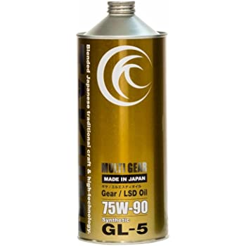 ギアオイル・デフオイル 1L 75W-90 化学合成油HIVI TAKUMIモーターオイル MG