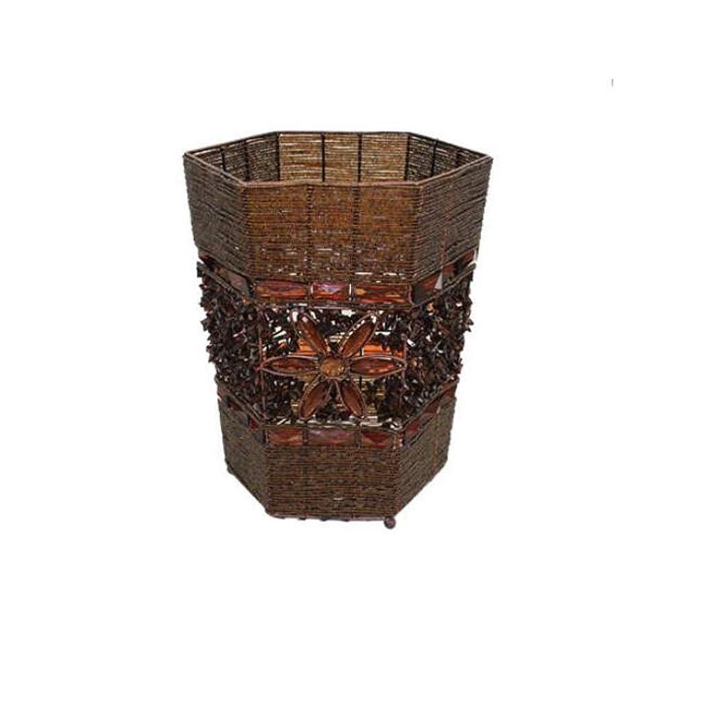 見通し運搬即席IUYWLごみ箱 アクリル工芸家のレースのゴミ箱は大きな破片収納バケツ28×23×23 cmを家に帰ることができます IUYWLごみ箱