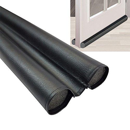 Butoir de porte Duo de proheim en pvc flexible 95 cm (individuellement réglable) - Flexible joint de porte contre les courants d'air, le froid, les insectes et le bruit