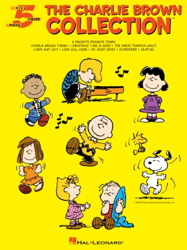 The Charlie Brown Collection(TM) Songbook (Five-Finger Piano) (English Edition)