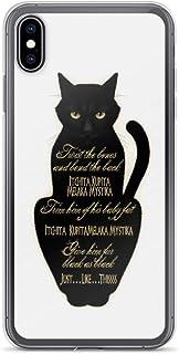 Binx Black Cat Hocus Pocus Anti Scratch Clear Case for iPhone Xs Max