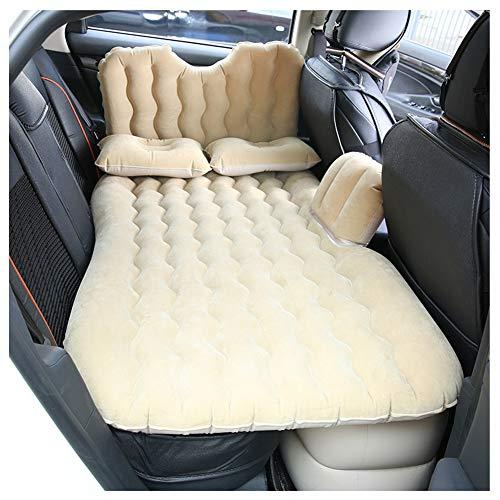 MISSMAOM_Fashion2019 Autobett: Aufblasbares Bett für den Auto-Rücksitz, mit Kissen und Fußraum-Stütze
