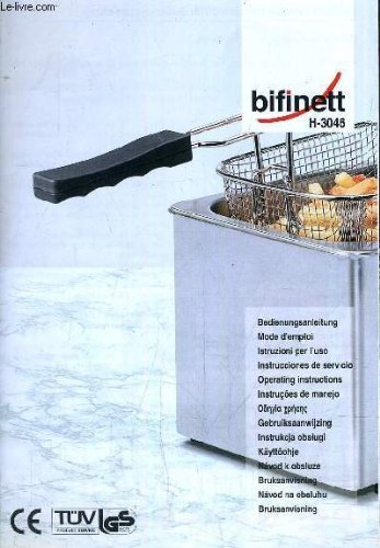 MODE D'EMPLOI - BIFINETT H-3046 / MULTILINGUE.