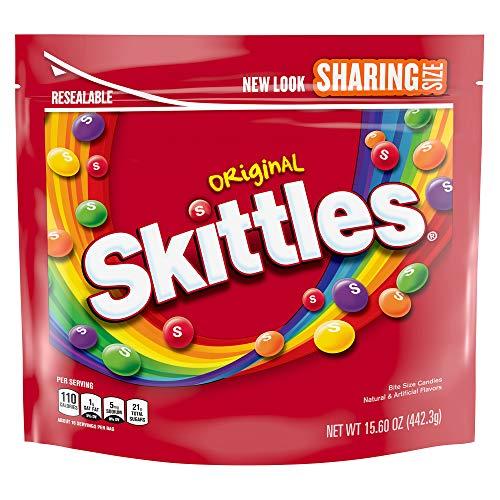 Skittles, Original Candy Sharing Size Bag, 15.6 oz