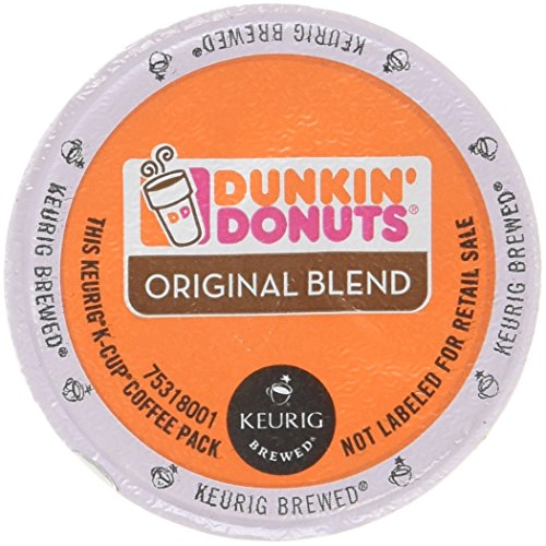 Dunkin Donuts Original Flavor Coffee K-Cups For Keurig K Cup Brewers, 32 Count (Packaging May Vary)