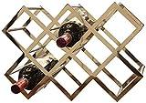 Vin Racks 8 bouteilles de vin rack -Fer multi-fonction étage vin Shelf Cave à vin