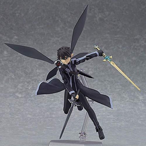 BHNACM Carácter Sword Art Online II Elf Kirito ALO Figura De Acción Colección Animada Modelo De La Decoración Estatua