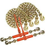 VULCAN Chain and Binder Kit - Grade 70-3/8 Inch x 20 Foot - 6,600 Pound Safe Working Load
