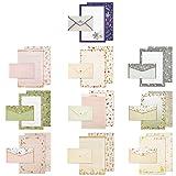 Set di carta da lettere, Set di Buste in Carta per Lettere, Graziosa Carta da Lettere, con...