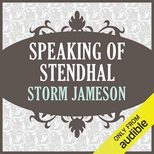 Speaking of Stendhal audiobook cover art