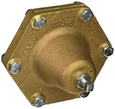"Cash Valve 12396-0011 Bronze Pressure Regulator, 2 - 20 PSI Pressure Range, 3/4"" NPT Female from Tyco Valves & Controls"